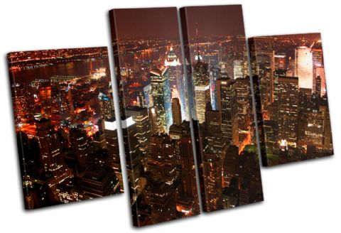 New York NYC Skyline City - 13-1067(00B)-MP17-LO
